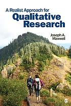 A Realist Approach for Qualitative Research cover image