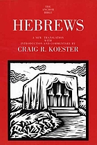 Hebrews : a new translation with introduction and commentary
