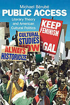 Public access : literary theory and American cultural politics