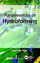 Fundamentals of hydroforming