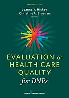 Evaluation of health care quality for DNPs