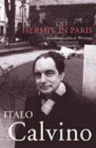 Hermit in Paris : autobiographical writings
