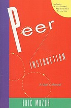 Peer instruction : a user's manual