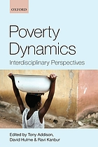 Poverty dynamics : interdisciplinary perspectives