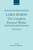 Lord Byron, the complete poetical works