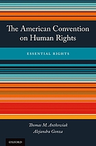 The American Convention on Human Rights : essential rights