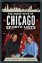 The great book of Chicago sports lists