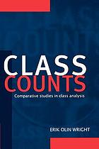 Class counts : comparative studies in class analysis