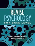 Revise psychology for OCR GCSE level