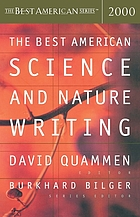 The best American science and nature writing 2000