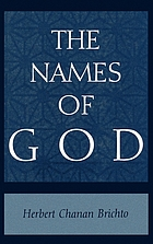 The names of God : poetic readings in biblical beginnings
