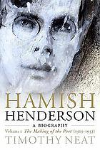 Hamish Henderson : a biography / 1 The making of a poet.