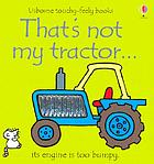 That's not my tractor--