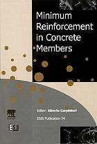 Minimum reinforcement in concrete members