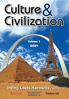 Culture & civilization. Volume 1