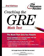 Cracking the GRE math subject test