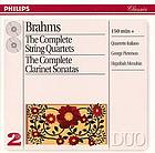 The complete string quartets The complete clarinet sonatas