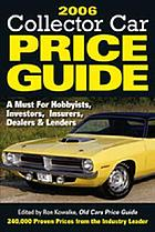 2006 collector car price guide