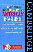 Cambridge dictionary of American English.
