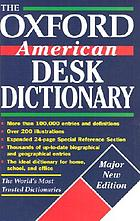 The Oxford American desk dictionary