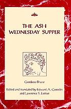 The Ash Wednesday supper = La cena de le ceneri