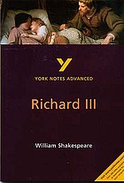 Richard III [by] William Shakespeare