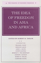 The idea of freedom in Asia and Africa