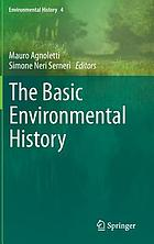The basic environmental history