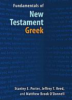 Fundamentals of New Testament Greek