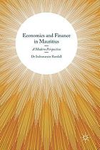 Economics and Finance in Mauritius : a Modern Perspective