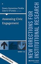 Assessing civic engagement