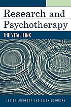 Research and psychotherapy : the vital link