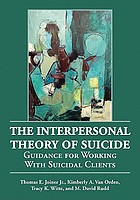 The interpersonal theory of suicide : guidance for working with suicidal clients