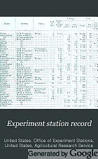 Report on the agricultural experiment stations.