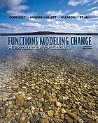 Functions modeling change : a preparation for calculus