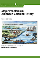 Major problems in American colonial history : documents and essays