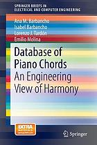Database of piano chords : an engineering view of harmony