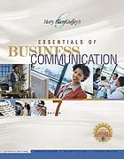 Mary Ellen Guffey's essentials of business communication