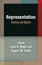 Representation : elections and beyond