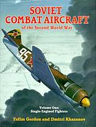 Soviet combat aircraft of the Second World War