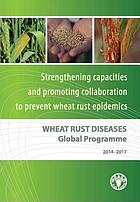 Wheat rust diseases global programme 2014-2017 : strengthening capacities and promoting collaboration to prevent wheat rust epidemics.