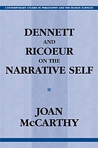 Dennett and Ricoeur on the narrative self