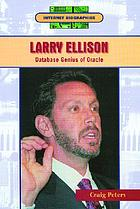 Larry Ellison : database genius of Oracle