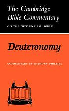 Deuteronomy : commentary