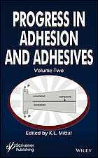 Progress in adhesion and adhesives. Volume 2