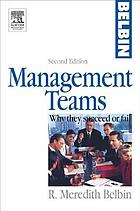 Management teams : why they succeed or fail