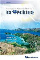 Proceedings of the 5th International Conference on Asian and Pacific Coasts : Singapore, 13-18 October 2009