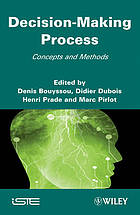 Decision-making process : concepts and methods