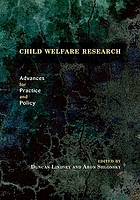 Child Welfare Research: Advances for Practice and Policy cover image
