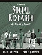 Social research : an evolving process